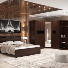 прикроватные тумбочки для спальни дизайн