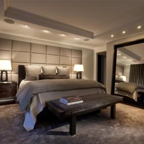 прикроватные тумбочки для спальни дизайн фото
