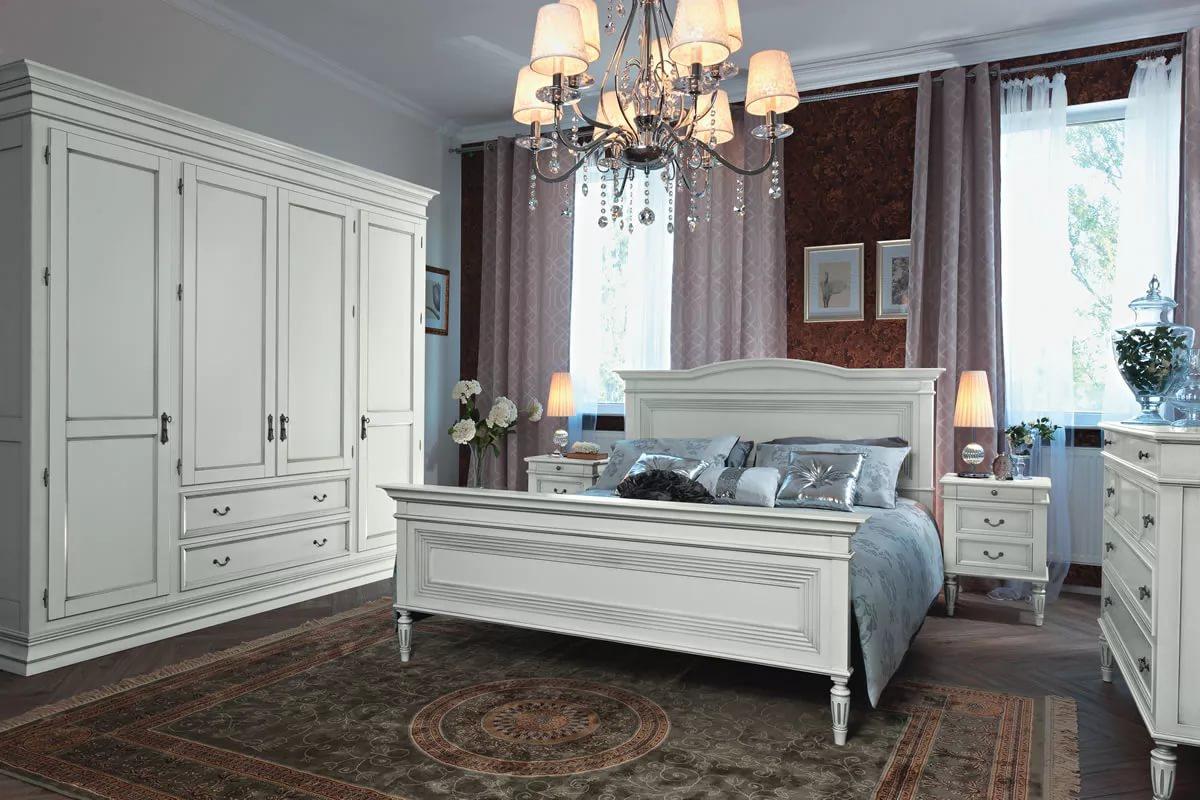 прикроватные тумбы для спальни классический стиль