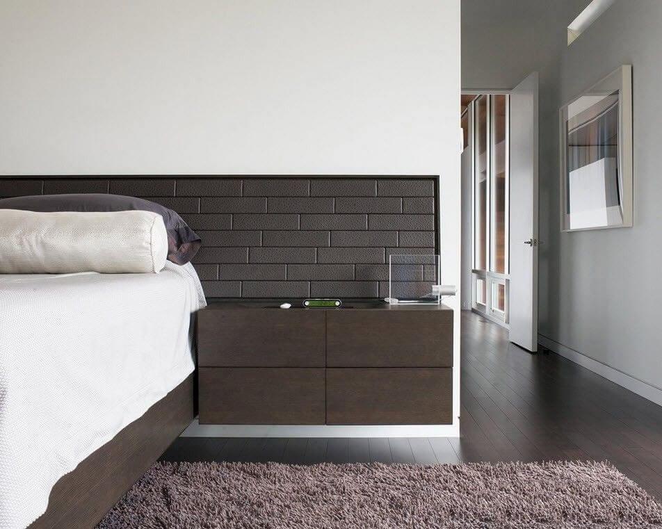 прикроватные тумбы для спальни минимализм