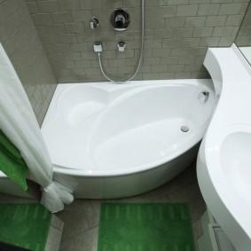 раковина над ванной интерьер идеи