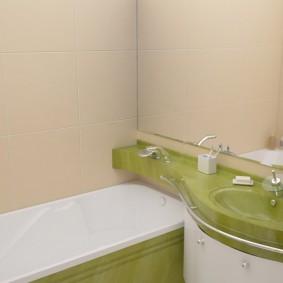 раковина над ванной фото вариантов