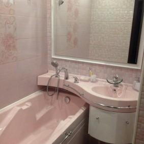 раковина над ванной виды