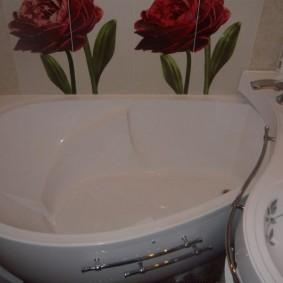 раковина над ванной обзор