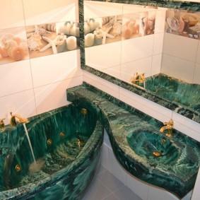 раковина над ванной фото дизайн