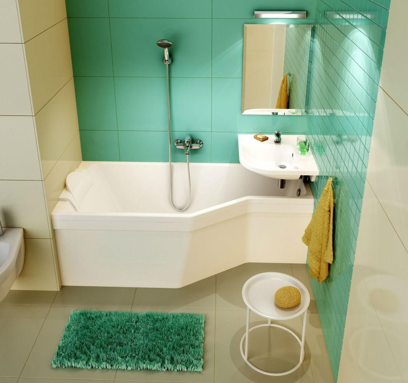 раковина над ванной виды и идеи
