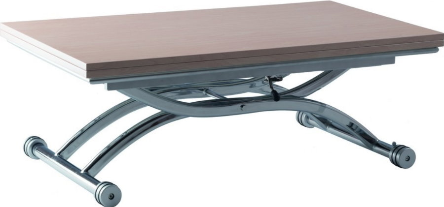 Раскладной столик с металлическими ножками