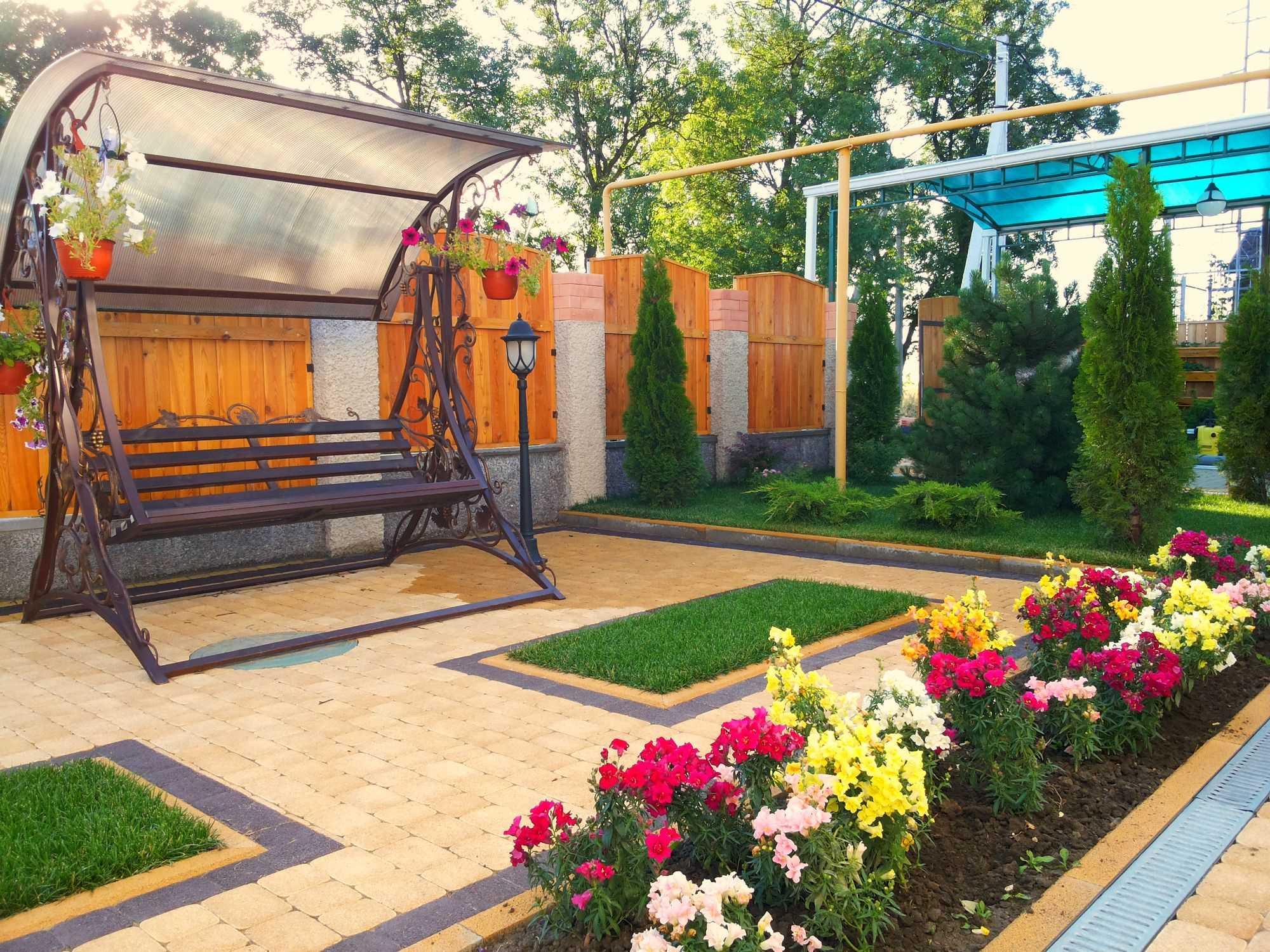 растения в ландшафтном дизайне дома