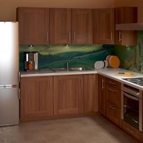 ремонт кухни площадью 9 кв м фото