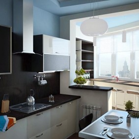 ремонт кухни площадью 9 кв м фото декор