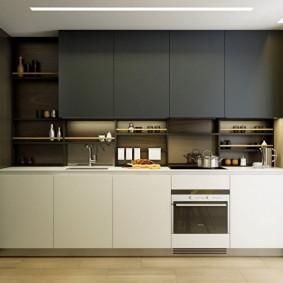 ремонт кухни площадью 9 кв м интерьер фото
