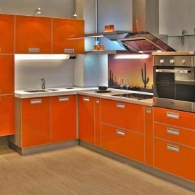 ремонт кухни площадью 9 кв м фото интерьер