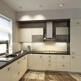 ремонт кухни площадью 9 кв м интерьер идеи