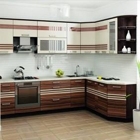 ремонт кухни площадью 9 кв м идеи интерьер