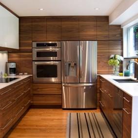 ремонт кухни площадью 9 кв м идеи интерьера