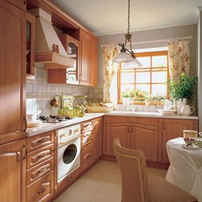 ремонт кухни площадью 9 кв м идеи оформление