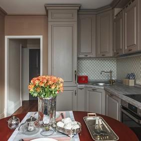 ремонт кухни площадью 9 кв м идеи оформления
