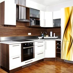 ремонт кухни площадью 9 кв м варианты фото