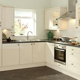 ремонт кухни площадью 9 кв м фото варианты