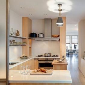 ремонт кухни площадью 9 кв м фото вариантов
