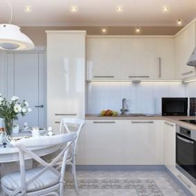 ремонт кухни площадью 9 кв м варианты идеи