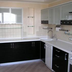 ремонт кухни площадью 9 кв м идеи варианты