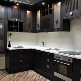 ремонт кухни площадью 9 кв м идеи вариантов