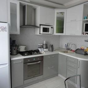 ремонт кухни площадью 9 кв м виды фото
