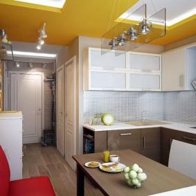 ремонт кухни площадью 9 кв м виды декора