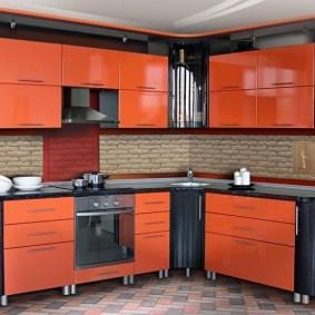 ремонт кухни площадью 9 кв м дизайн