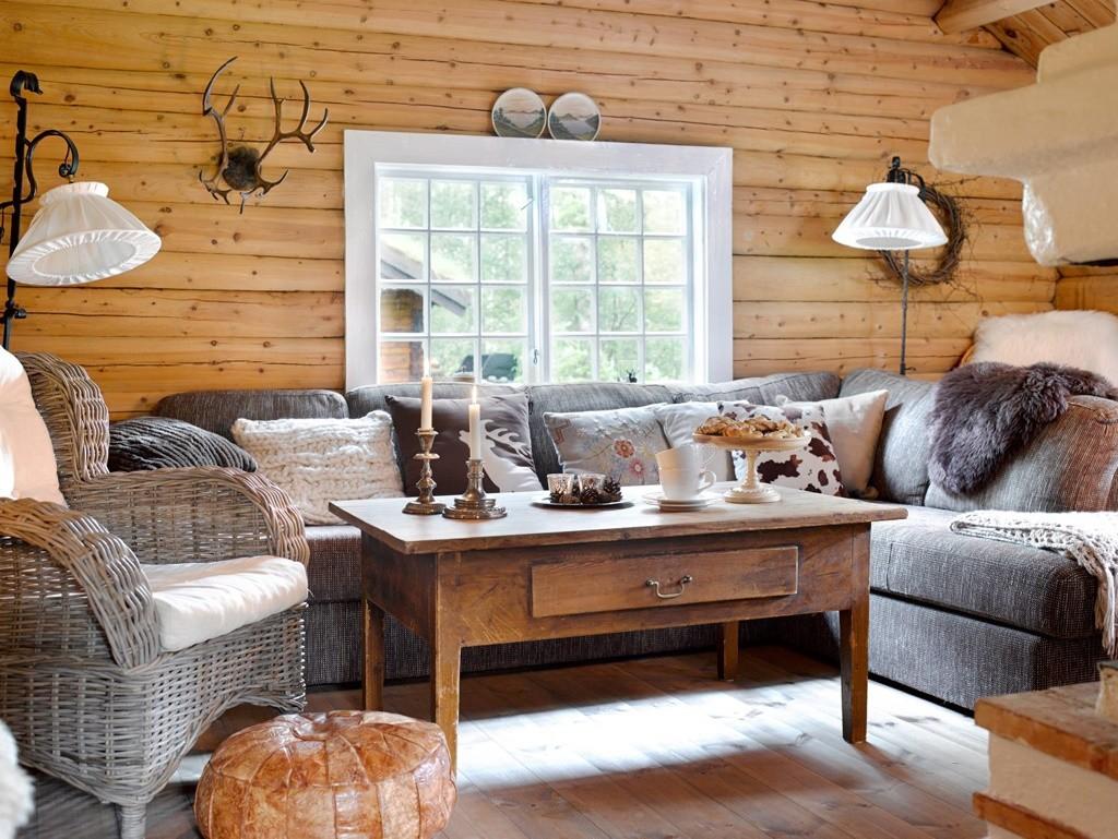 Уютная комната для комфортного отдыха на даче