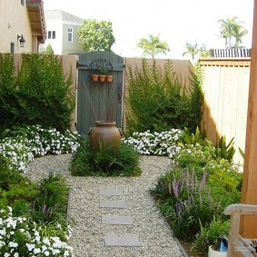 сад в частном доме варианты идеи