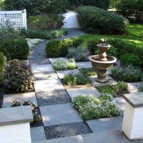 сад в частном доме идеи варианты