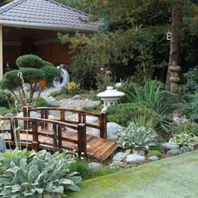сад в частном доме виды фото