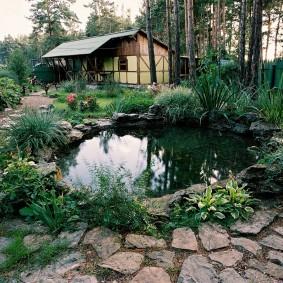 сад в частном доме виды идеи