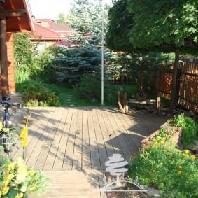 сад в частном доме идеи виды