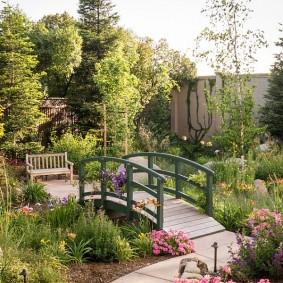 сад в частном доме варианты дизайна