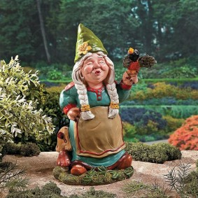 садовая фигура гном декор фото