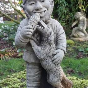 садовая фигура гном фото декор