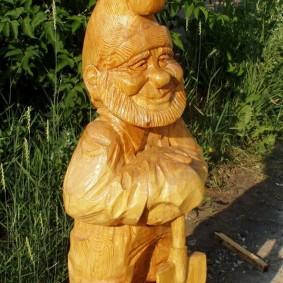 садовая фигура гном фото оформление