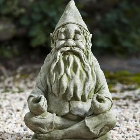 садовая фигура гном фото оформления