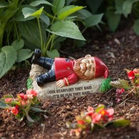 садовая фигура гном варианты фото
