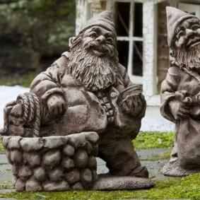садовая фигура гном фото вариантов