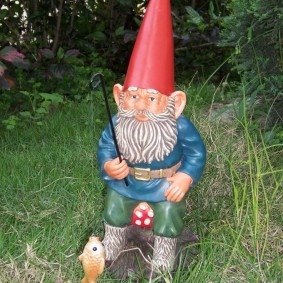 садовая фигура гном идеи фото