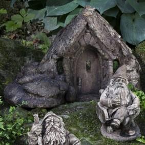 садовая фигура гном фото идеи
