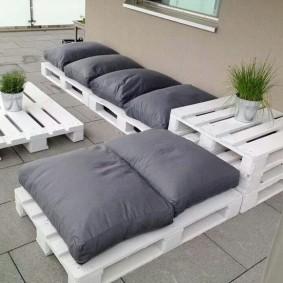 садовая мебель из дерева и металла идеи дизайна