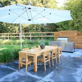 садовая мебель из дерева и металла варианты декора