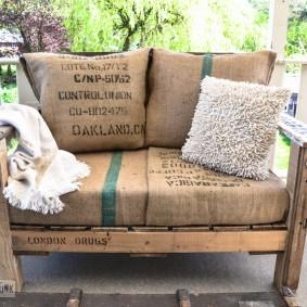 садовая мебель из дерева и металла идеи декор