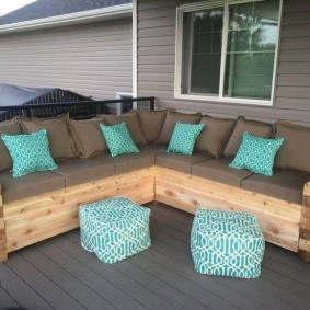 садовая мебель из дерева и металла варианты фото