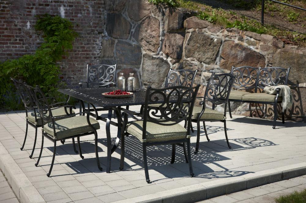 садовая мебель из металла идеи фото